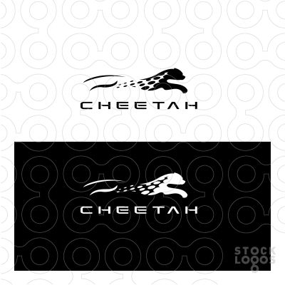 Exclusive Customizable Logo For Sale: Cheetah | StockLogos.com