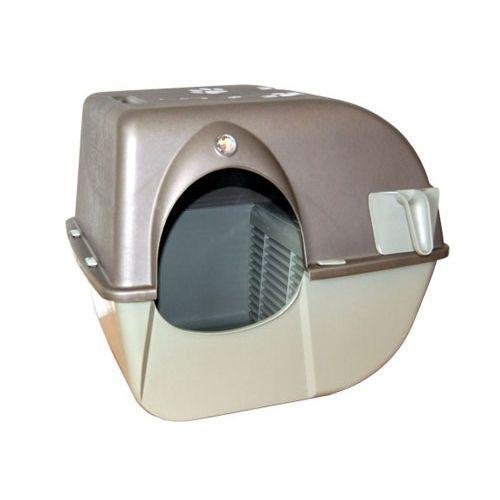 Litière & compagnie - Maison de toilette auto-nettoyante pour chats