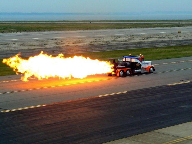 Chevy Semi Truck >> SHOCKWAVE TRIPLE ENGINE JET TRUCK | Jet cars | Trucks, Monster trucks, Jet engine