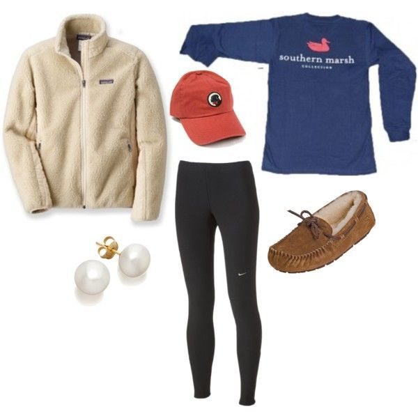 """Ugg Mocassins"" by itstangie on Polyvore For an EXTREME comfy day."