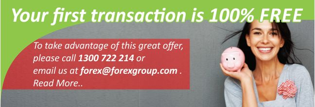 To avail this Offer, Email us forex@forexgroup.com or Call us 1300 722 214 #currencyexchange #foreignexchange #import #exports #australia