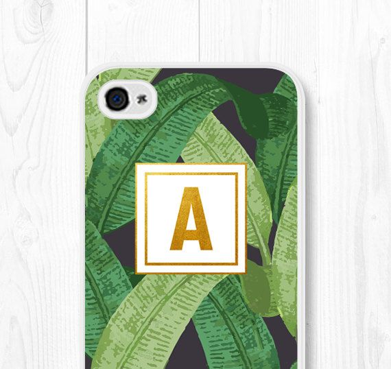 Personalized iPhone 6 Case Samsung Galaxy S5 Case by fieldtrip - with black sides and trim, not sure about monogram