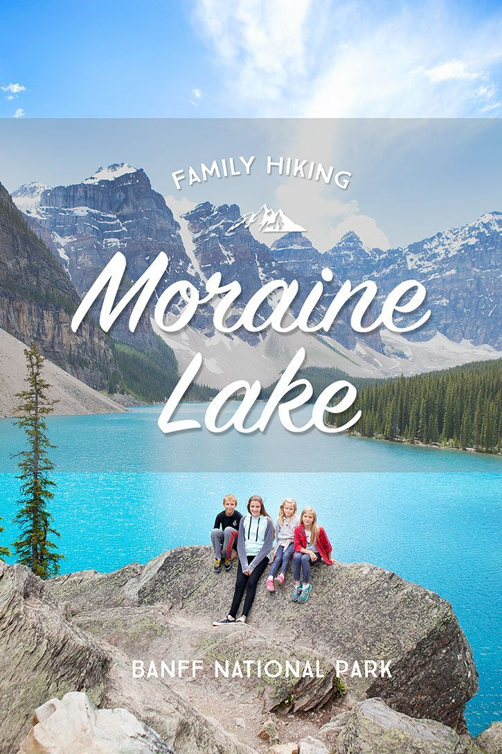Beautiful hikes to explore as a family in Banff any time of  year - winter, spring, summer or fall.