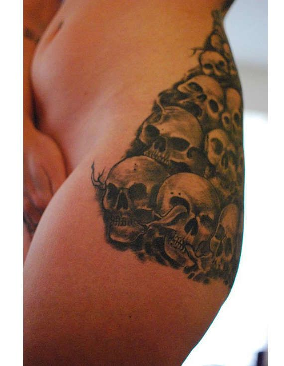 125 best Selection of the coolest Hip Tattoos images on ...