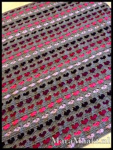119 best crochet whearts images on pinterest blankets crochet deken met hartjes heart blanket link to pattern on marahaakt dt1010fo