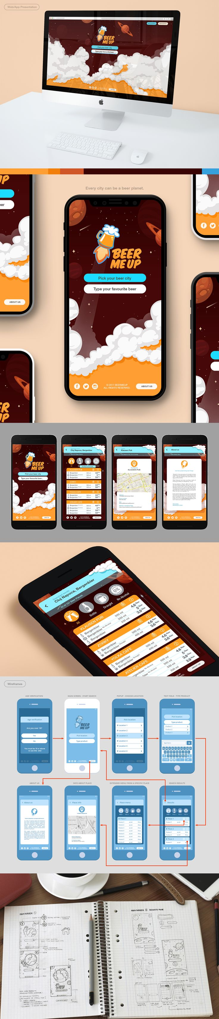 Mobile and Website App, Visual Identity