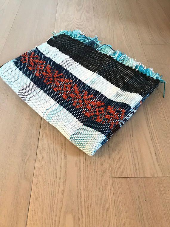 Handwoven Acrylic Blanket No. 6.3