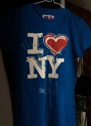 À vendre sur #vintedfrance ! http://www.vinted.fr/mode-femmes/tee-shirts/35620391-t-shirt-i-love-new-york