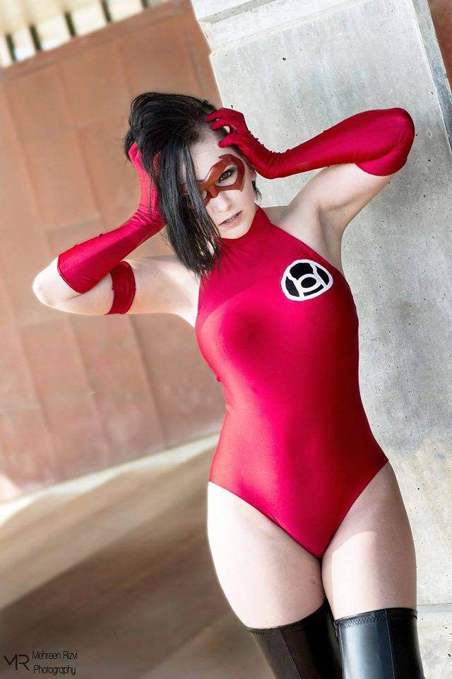 Red Lantern cosplay by Jennifer Van Damsel | Red lantern ...