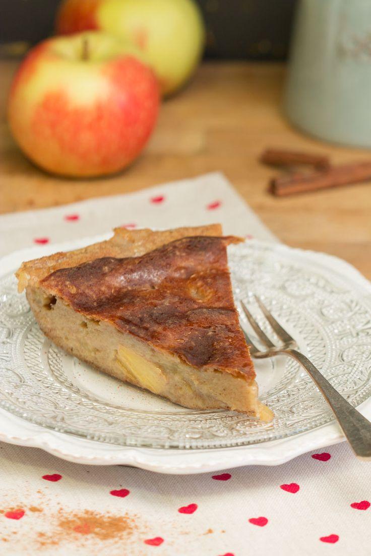 Gâteau sans matière grasse aux kakis, aux pommes, à l'érable et à la cannelle