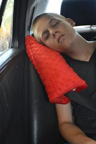 Almohadilla de cinturón de seguridad-viaje por SewingCreationsByAmy