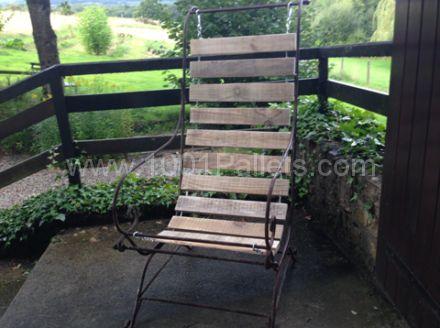 Transat De Jardin / Pallet Garden Chair
