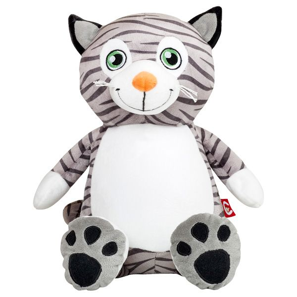 Cubbies Mr Meowgi Cat Embroiderable Stuffed Animals Embroidery
