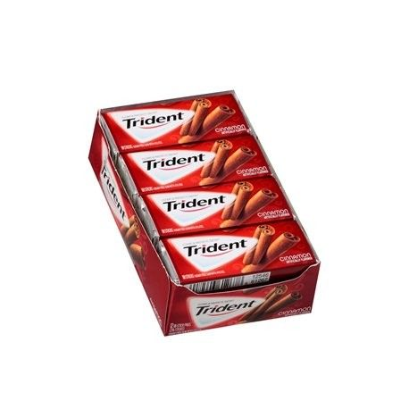 Trident Cinnamon Gum 18pc - 12ct from CandyStore.com