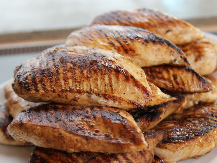 Perfect Grilled Chicken recipe from Ree Drummond via Food Network. Keep in freezer and use for quesadillas, pasta dishes, paninis, and salads