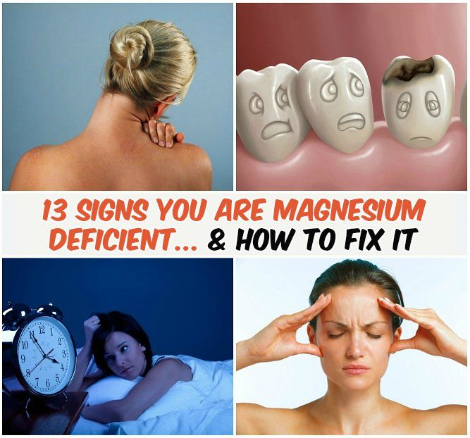 13 Signs You Are Magnesium Deficient... & How To Fix It