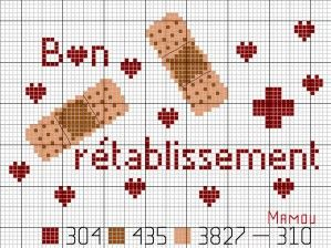 salle de bains - bathroom - pharmacie - point de croix-cross stitch - broderie-embroidery- Blog : http://broderiemimie44.canalblog.com/