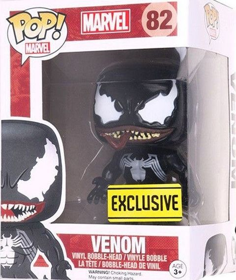Funko Pop Spider Man Classics Venom Marvel Walgreens Hand Model Doll