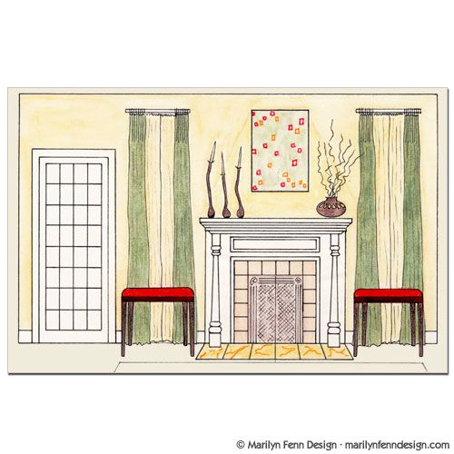 Apartment Interior Elevation: 17 Best Images About Architectural Drawings On Pinterest