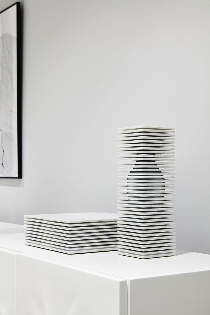 Roche Bobois | Introverso vase and bowl designed by Paolo Ulian & Moreno Ratti