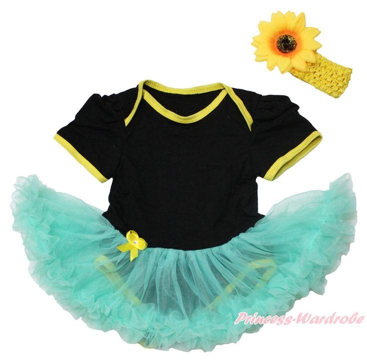Лето принцесса анна лихорадка обычная боди девушки детское платье экипировка комплект нб-18month MAJSA0632