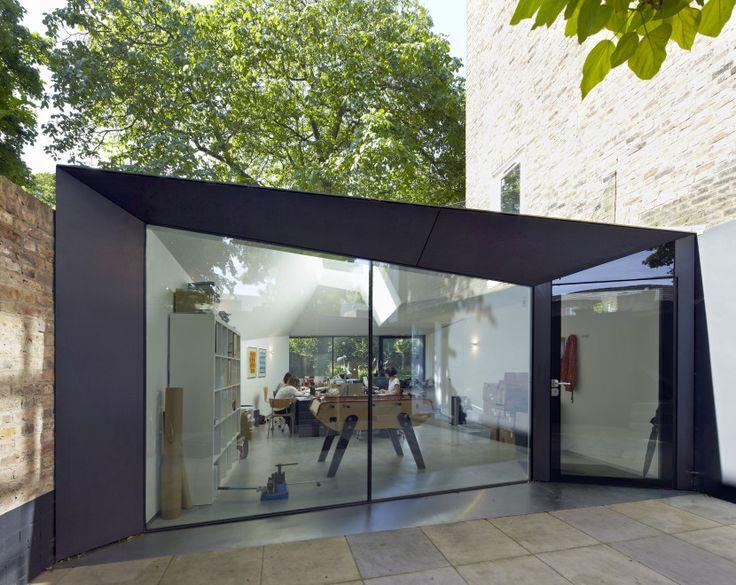 Alison Brooks Architects _ Lens House _ Exterior Photo Front