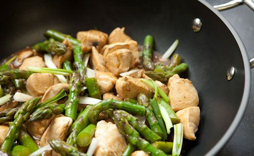 Epicures Chicken and Asparagus Stir-fry http://julievanghel.myepicure.com/