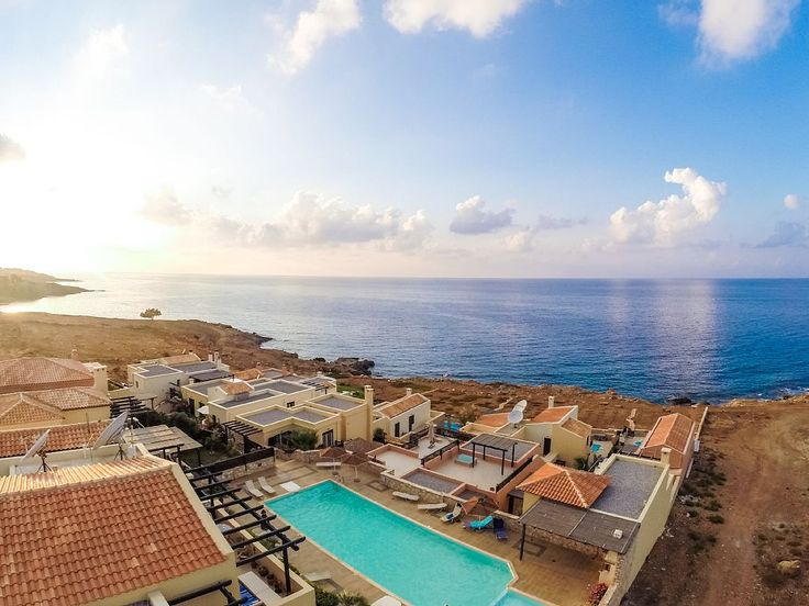 Panormos apartment rental - A panoramic view of the complex!