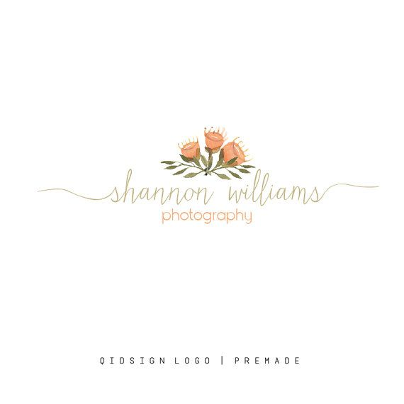 Hey, I found this really awesome Etsy listing at https://www.etsy.com/listing/263212061/watercolor-logo-floral-logo-calligraphy
