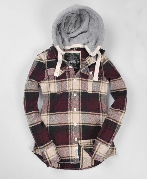 Superdry Lumberjack Hood - but the price >.