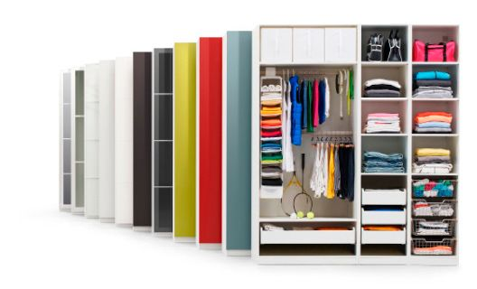 Ontwerp je eigen garderobekast met de PAX plannerbij IKEA