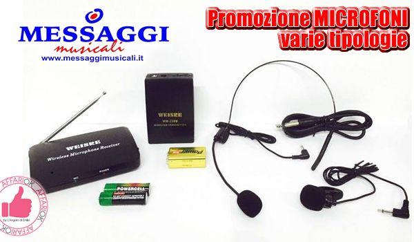 Promozione Microfoni Da Messaggi Musicali http://affariok.blogspot.it/