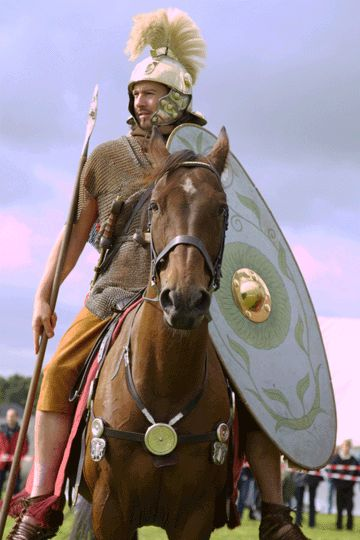 Roman auxilliary cavalry