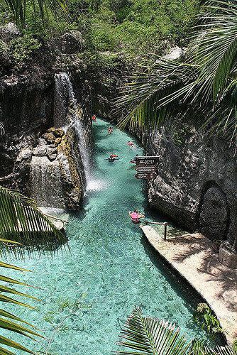 buy north face River of Xcaret  Riviera Maya  Mexico