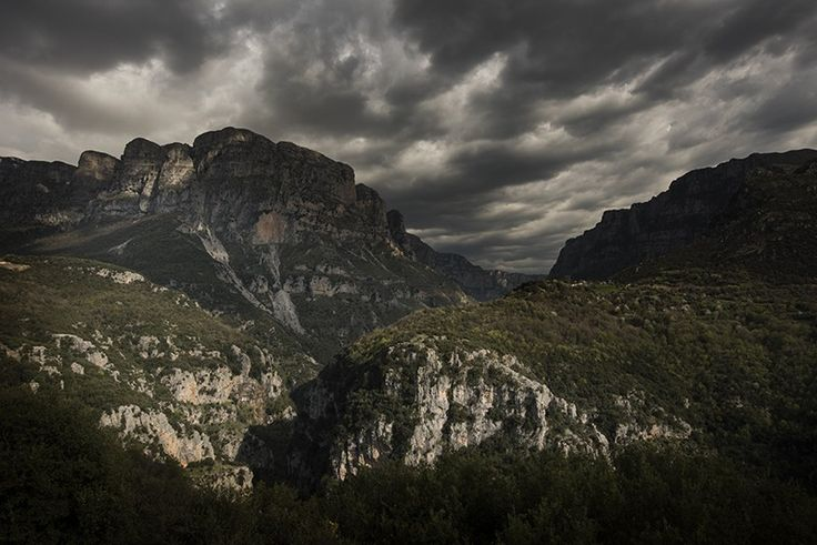 Vikos Gorge in the Pindus Mountains, Epirus, North Greece - Greece mainland Workshop - Ollie Taylor Photography