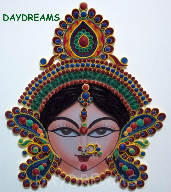 DAYDREAMS: Quilled profile picture by Suganthi of Chennai, India