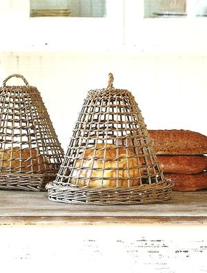 campanas de mimbre  -  wicker cloches