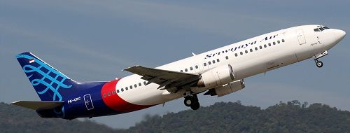 Sriwijaya Tambah Rute Penerbangan Yogyakarta  dan Surabaya