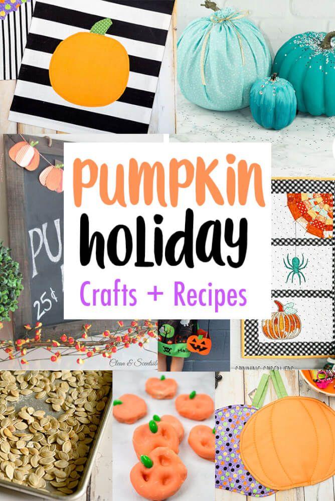 DIY Pumpkin Crafts Decor Recipes and Block Party Your Best DIY - halloween diy crafts