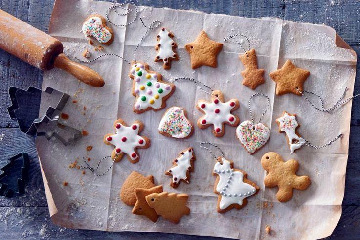 Kijk wat een lekker recept ik heb gevonden op Allerhande! Kerstboomkoekjes