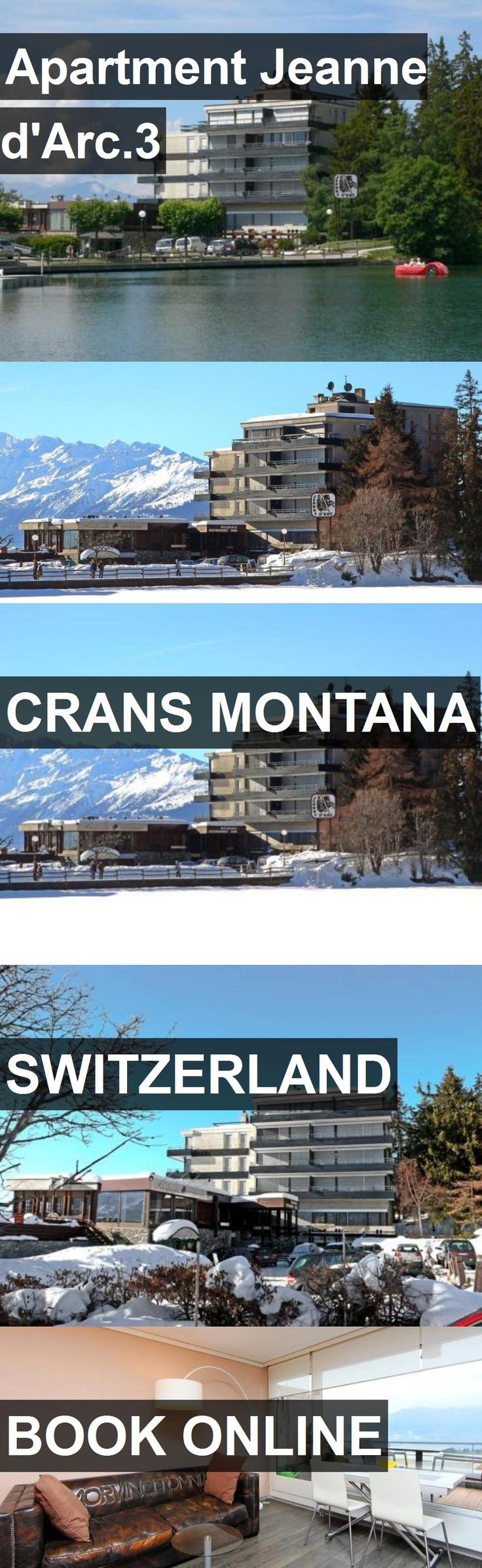 Hotel Apartment Jeanne d'Arc.3 in Crans Montana, Switzerland. For more information, photos, reviews and best prices please follow the link. #Switzerland #CransMontana #ApartmentJeanned'Arc.3 #hotel #travel #vacation