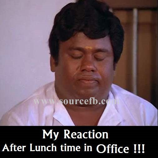 After Lunch Time In Office Senthil Comment Photos Vadivelu