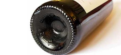 The purpose of the indentation on a wine bottle http://drinksfeed.com/the-purpose-of-the-indentation-on-a-wine-bottle/