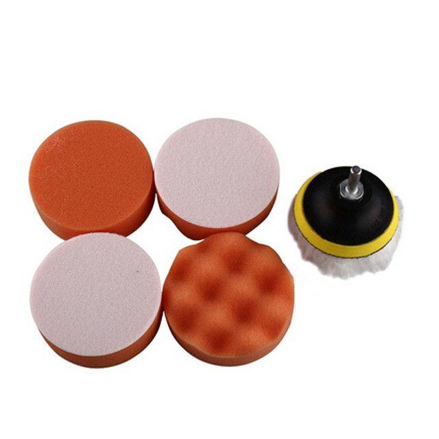 Car waxing beauty polishing disc wheel self-adhesive wool ball polishing machine plane wave sponge disk