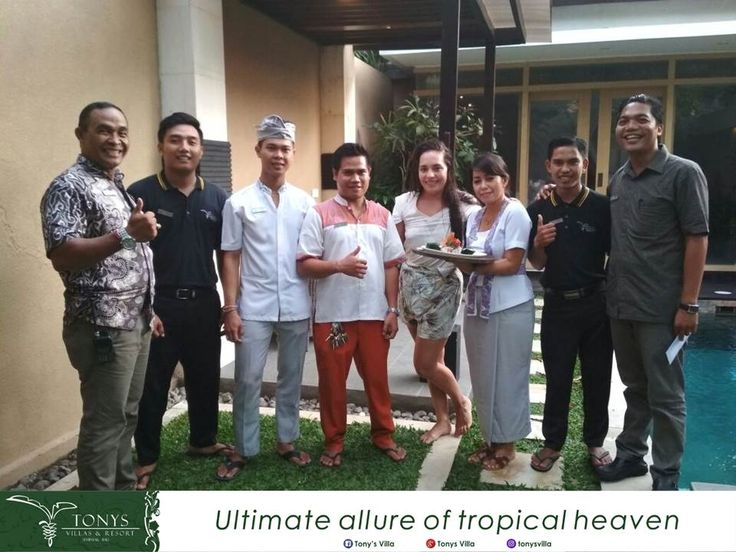 Happy birthday Ms. Esther we wish you all the best and thank you for choosing Tonys Villas & Resort Seminyak Bali for your stay. It's our pleasure to deliver you a surprise on your special day. . . . #Bali #Seminyak #vacation #holiday #wonderfulplaces #honeymoon #birthday #surprise #tonysvilla #balimagic #photooftheday #staydifferent #letsgosomewhere #villainseminyak #holiday #surprise #birthday #smallparty www.balitonys.com