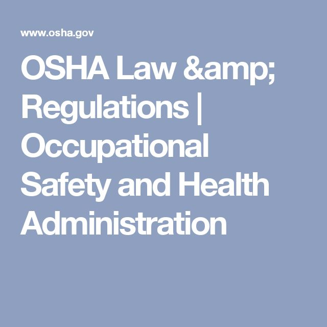 osha the occupational health and safety Occupational, safety, health, administration, osha, occupational safety and health administration, enforces, protective, workplace, standards, information, training, assistance, workers.