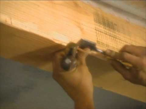 ▶ How to Distress Wood Beams for a Century-Old Look - Bob Vila - YouTube