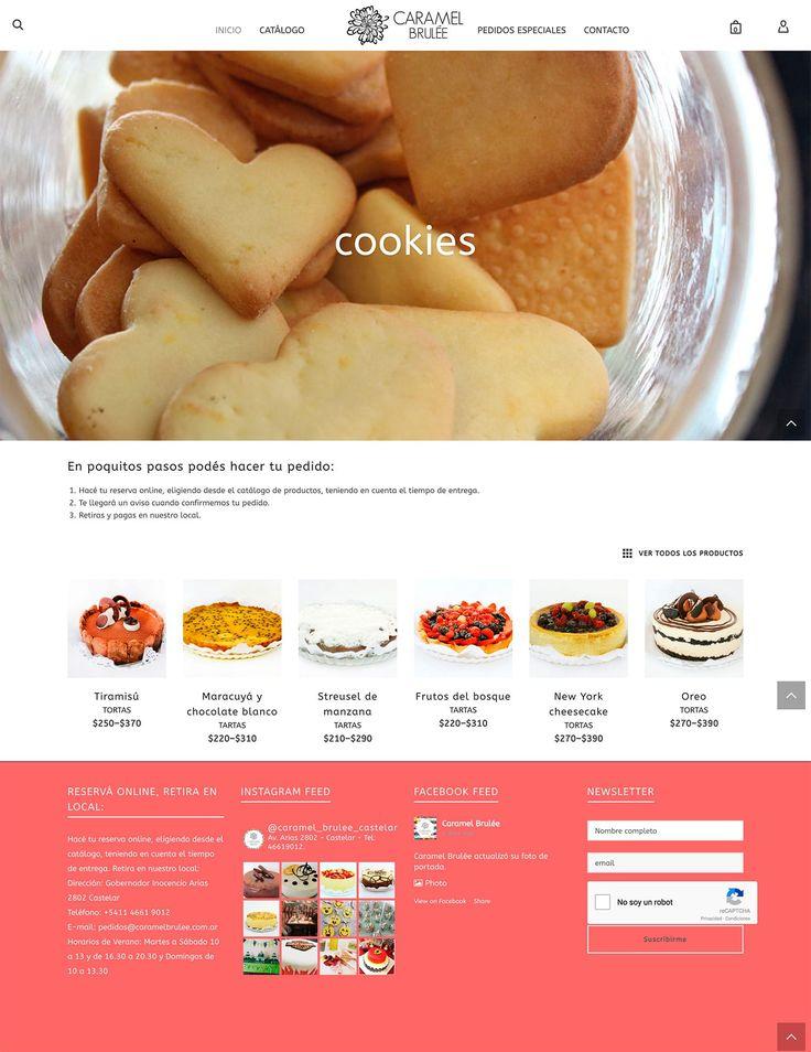 #pastelería reservas online http://vivavisual.com.ar/portfolio/reservas-online-pasteleria-casera/