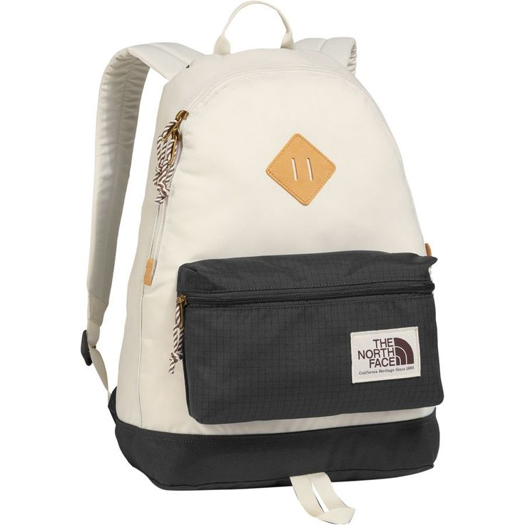 The North Face - Berkeley Backpack - 1526cu in - Asphalt Grey/Vintage White