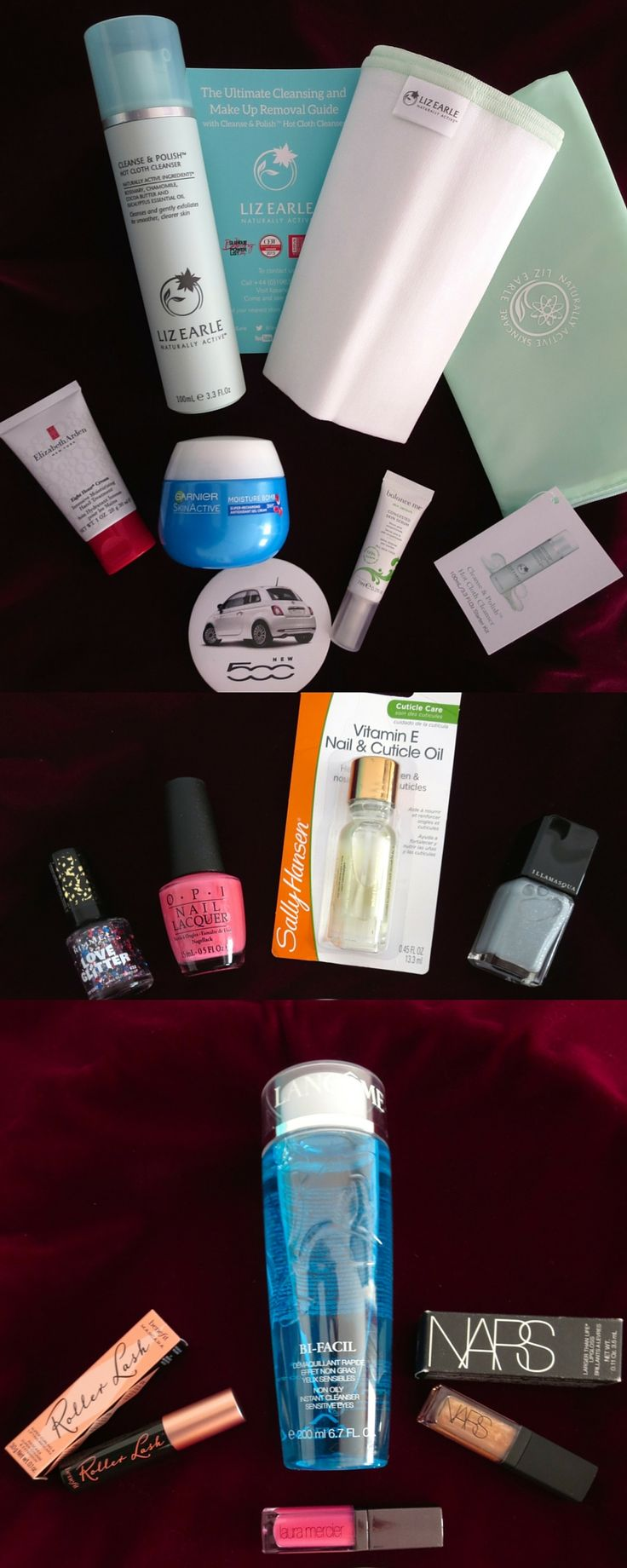 2016 Glamour Beauty Festival Goodie Bag